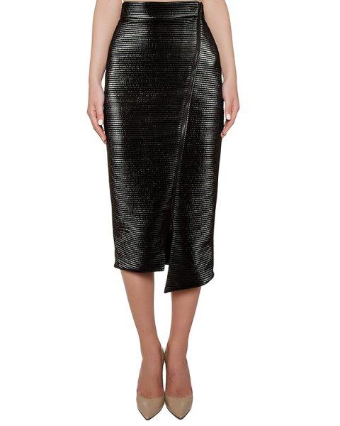юбка асимметричного кроя из плотной фактурной ткани артикул KFW1615 марки Kalmanovich купить за 33800 руб.