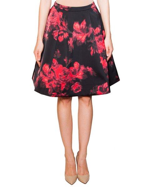 юбка из плотной ткани с контрастным цветочным принтом артикул KLARAFLA марки Essentiel купить за 7900 руб.