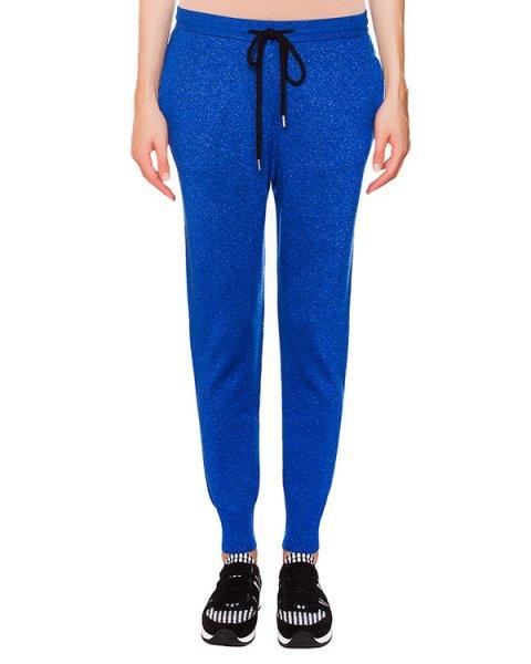 брюки из мягкой шерсти с добавлением блестящей нити артикул KN1304 марки Markus Lupfer купить за 9500 руб.