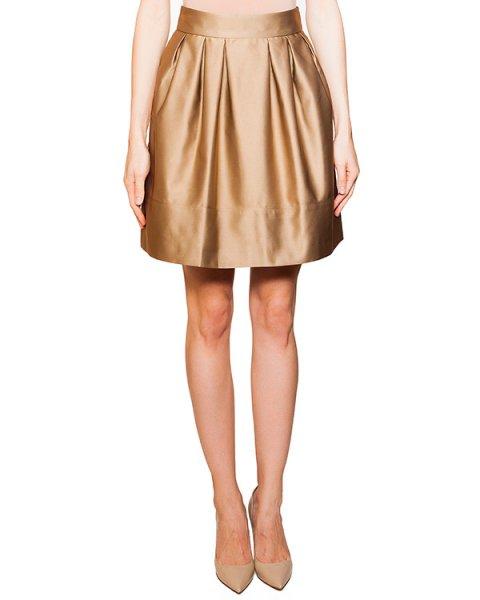 юбка из плотной гладкой ткани со складками артикул KORTO марки Essentiel купить за 6700 руб.