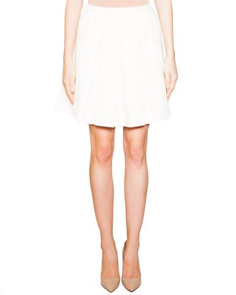 юбка из мягкой шерсти со складками артикул KW15W521 марки Maison Kitsune купить за 13100 руб.