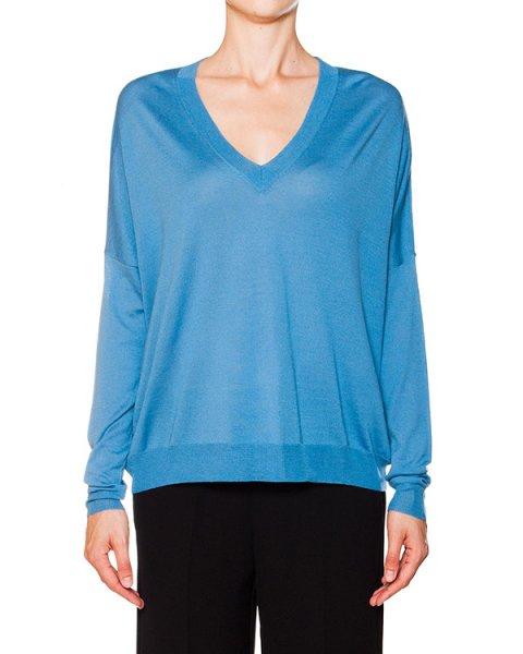 пуловер свободного кроя из мягкой шерсти артикул LANAX511528 марки P.A.R.O.S.H. купить за 7300 руб.