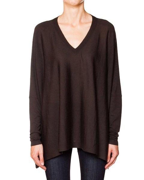 пуловер свободного кроя из мягкого шерстяного трикотажа артикул LANAX511530 марки P.A.R.O.S.H. купить за 9200 руб.