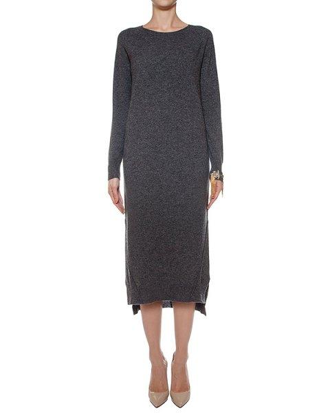 платье из шерсти и кашемира, украшено нашивкой на рукаве артикул LE0517R16 марки L'Edition купить за 30500 руб.