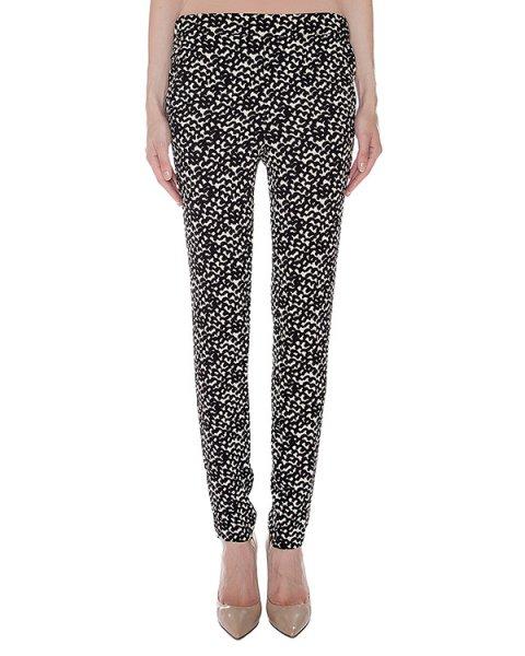 брюки из легкой фактурной ткани с узором артикул LETITGO марки Essentiel купить за 13800 руб.