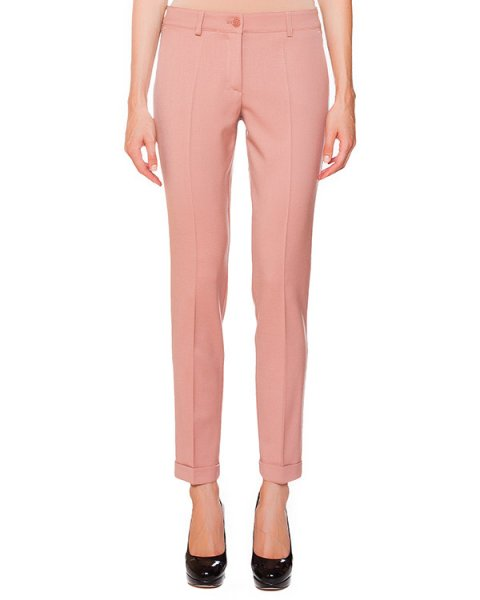брюки классического прямого кроя из плотной шерсти артикул LILYX230008 марки P.A.R.O.S.H. купить за 7300 руб.