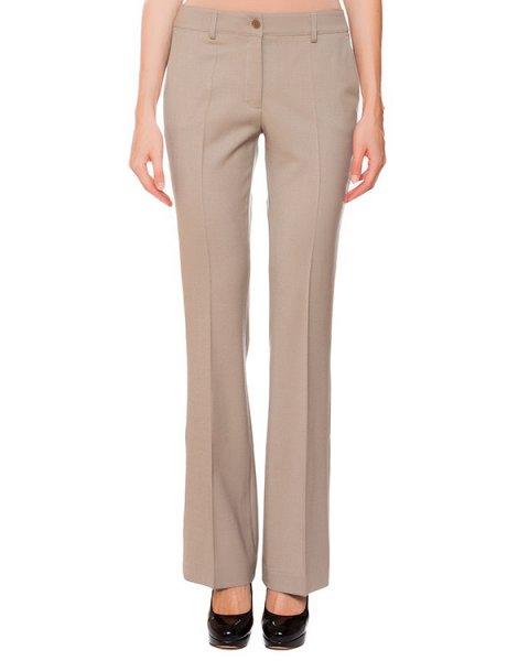 брюки расклешенного кроя из плотной шерсти артикул LILYX230009 марки P.A.R.O.S.H. купить за 15300 руб.