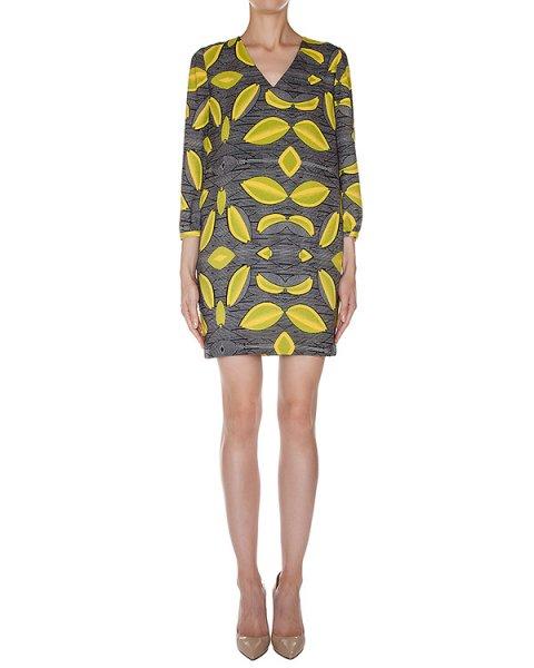 платье из плотной фактурной ткани с узором артикул LISPATCH марки Essentiel купить за 17900 руб.