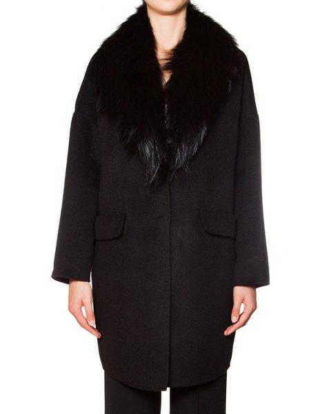 мех.пальто  артикул LOVER430530P марки P.A.R.O.S.H. купить за 35900 руб.