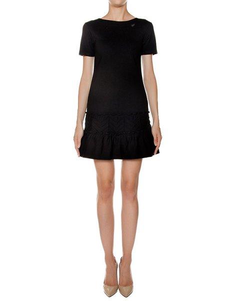 платье из плотной эластичной ткани  артикул LR3MJ03R марки Valentino Red купить за 34400 руб.