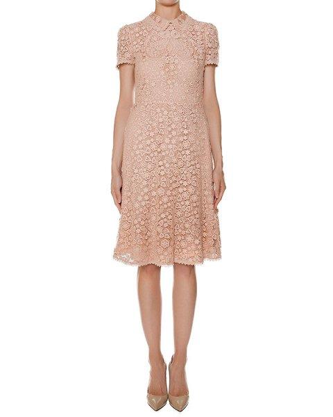 платье приталенного кроя из хлопкового кружева артикул LR3VA03T марки Valentino Red купить за 89000 руб.