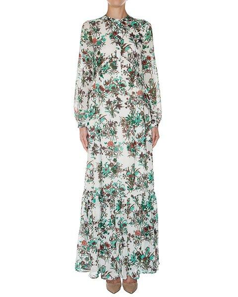 платье в пол из легкой ткани с цветочным принтом артикул LUCKYLOVE марки Essentiel купить за 19400 руб.