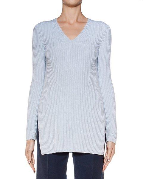 пуловер из мягкой шерсти и кашемира, дополнен разрезами по бокам артикул M0054 марки MRZ купить за 19900 руб.