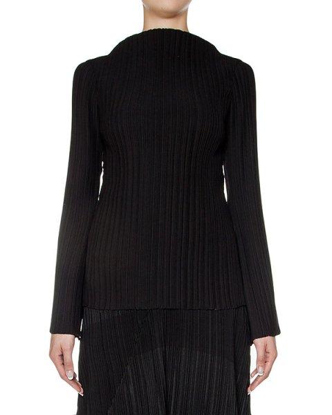 блуза из тонкой плиссированной ткани артикул M16I60127 марки MALLONI купить за 28800 руб.