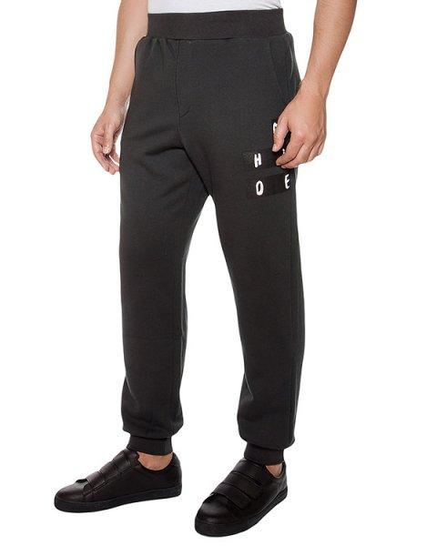 брюки из хлопкового трикотажа с принтом артикул MAFF4042 марки Tee Library купить за 10100 руб.