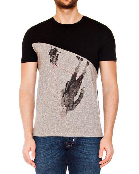 футболка из мягкого хлопкового трикотажа с принтом артикул MAFS0010 марки Tee Library купить за 4900 руб.