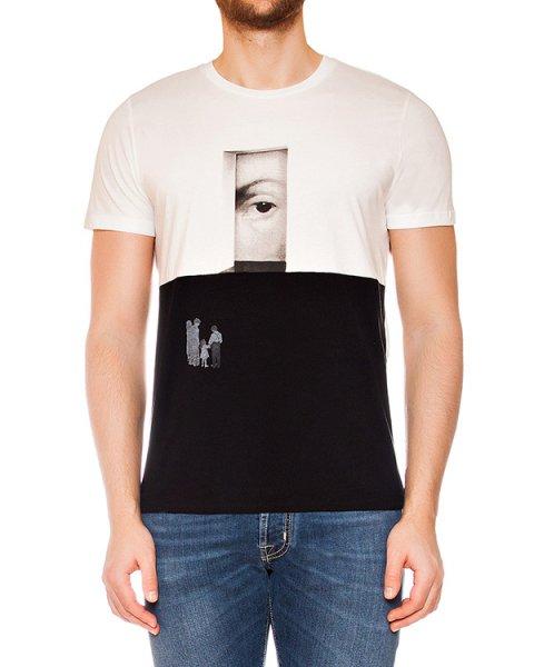 футболка из мягкого хлопкового трикотажа с принтом артикул MAFS0013 марки Tee Library купить за 4900 руб.