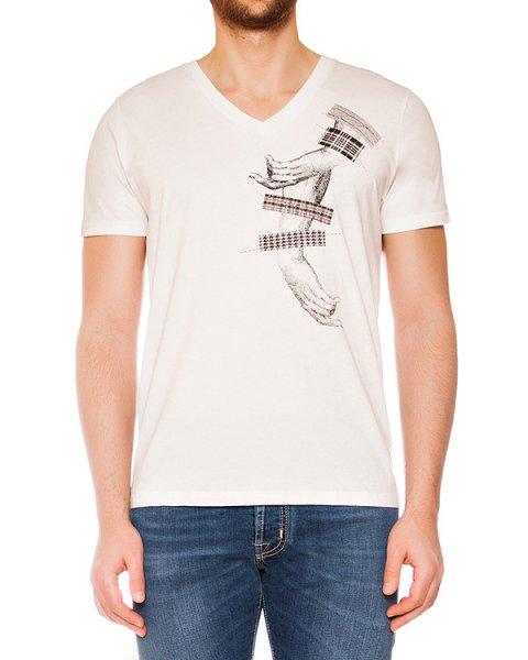 футболка из мягкого трикотажа с монохромным рисунком артикул MAFS0017 марки Tee Library купить за 4500 руб.
