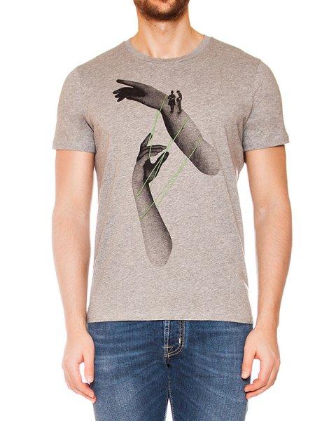 футболка из мягкого трикотажа с рисунком артикул MAFS0020 марки Tee Library купить за 4500 руб.