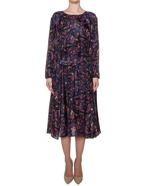 платье из легкого шелка с принтом артикул MAMAMIA марки Essentiel купить за 31800 руб.