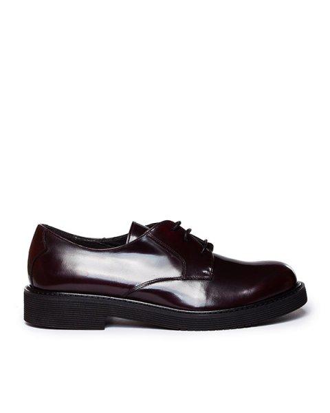 туфли из натуральной гладкой кожи, на шнуровке артикул MARSHOEX070021 марки P.A.R.O.S.H. купить за 9500 руб.