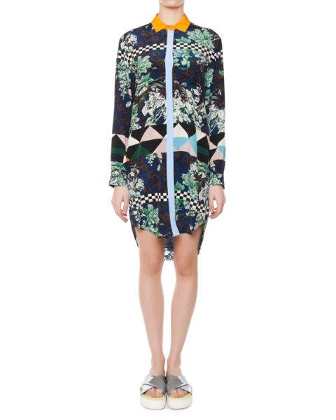 платье  артикул MDE04 марки MSGM купить за 23000 руб.