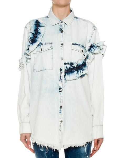 рубашка  артикул MDE07L марки MSGM купить за 17100 руб.