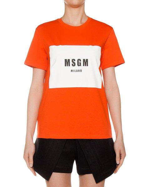 футболка  артикул MDM141 марки MSGM купить за 6000 руб.