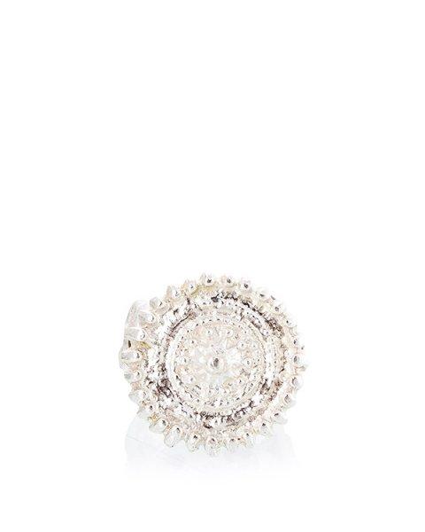 кольцо репродукция кольца 19 века, украшено вставками из тигрового глаза и гата; металл с покрытием из серебра артикул MID08 марки MIDGARD купить за 21000 руб.
