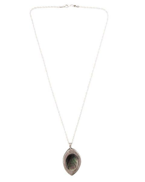 подвеска с оттиском печати бенедиктинского монастыря 18 века, украшен вставкой из перламутра; металл с покрытием из серебра артикул MID15 марки MIDGARD купить за 20000 руб.