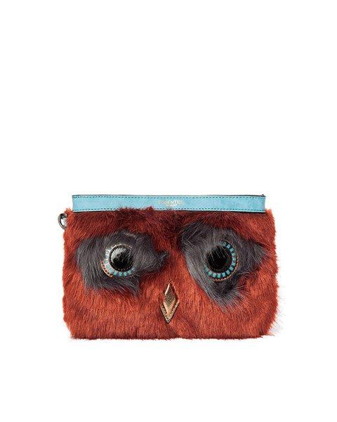 сумка из искусственного меха артикул MIGNUS марки Essentiel купить за 8400 руб.