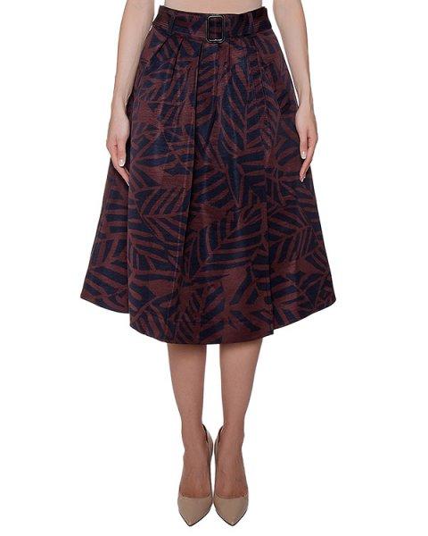 юбка из плотной ткани с принтом артикул MIKKY марки Essentiel купить за 8500 руб.