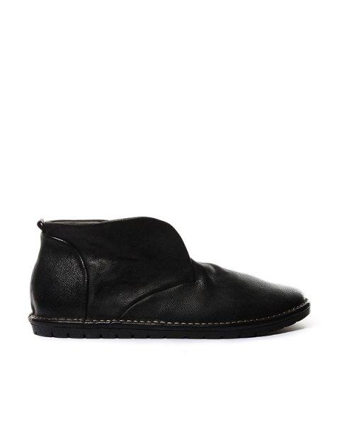 ботинки из натуральной фактурной кожи артикул MMG001 марки Marsell купить за 27100 руб.