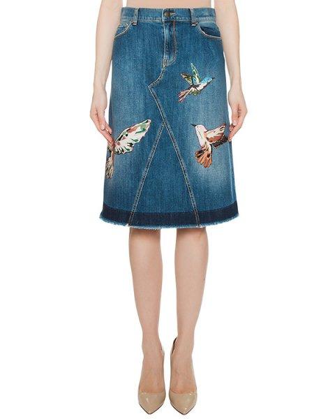 юбка  артикул MR3DD01F2SS марки Valentino Red купить за 50000 руб.