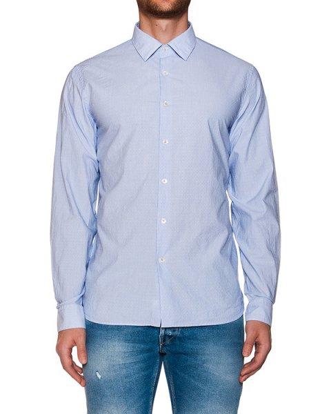 рубашка классического кроя из хлопка в тонкую полоску артикул MT6A7CL-HN095 марки CAPRI купить за 6600 руб.