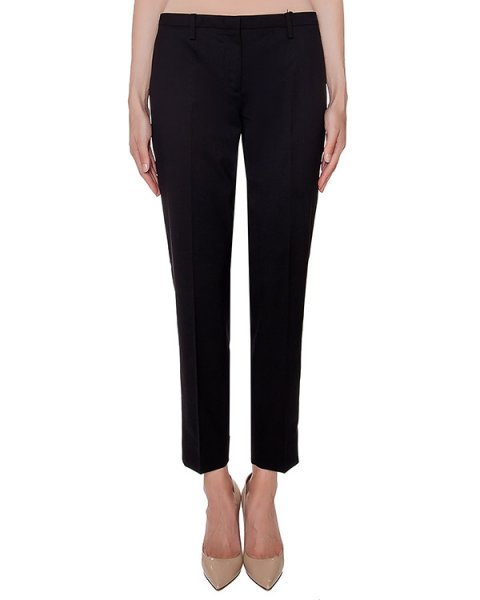 брюки прямого кроя из мягкой вирджинской шерсти артикул N2MB011-3120 марки № 21 купить за 26800 руб.