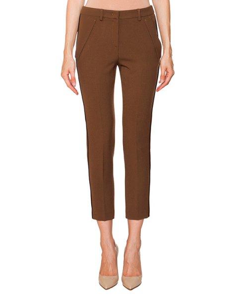 брюки укороченные классического прямого кроя артикул N2MB071 марки № 21 купить за 20800 руб.