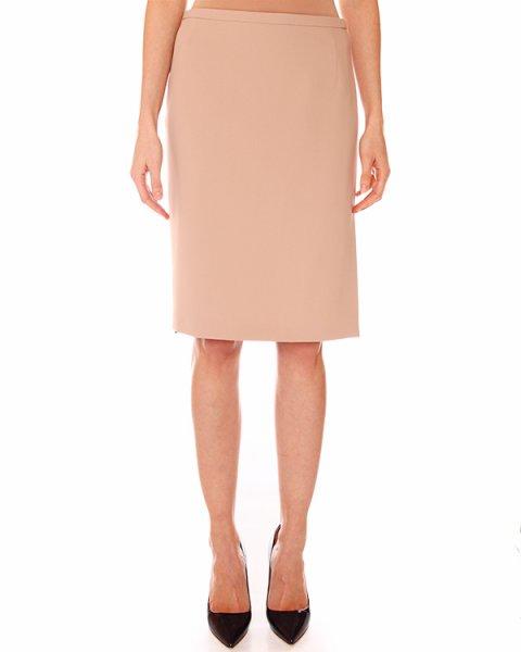 юбка классического кроя, нежного пудрового цвета артикул N2MC031 марки № 21 купить за 7100 руб.