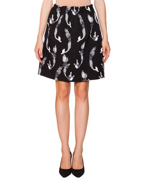 юбка из фактурной ткани с русалками артикул N2MC053 марки № 21 купить за 19600 руб.