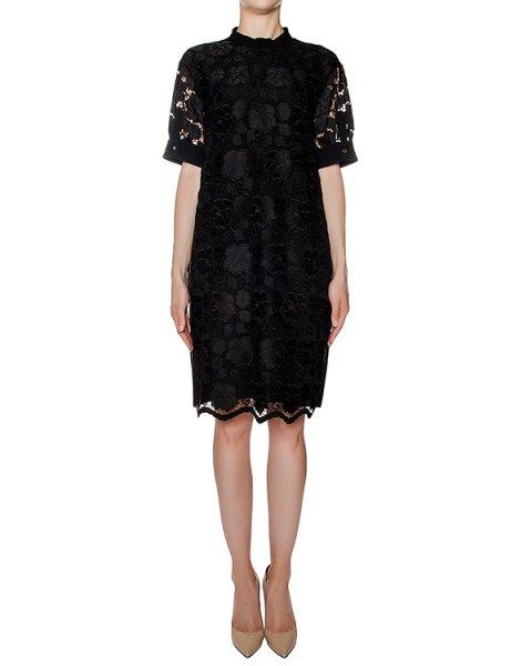 платье прямого кроя с кружевом артикул N2MH061 марки № 21 купить за 42400 руб.