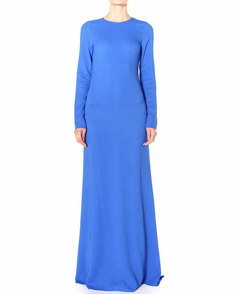 платье maxi с глубоким вырезом и кружевными вставками на спине артикул N2MH281 марки № 21 купить за 35300 руб.