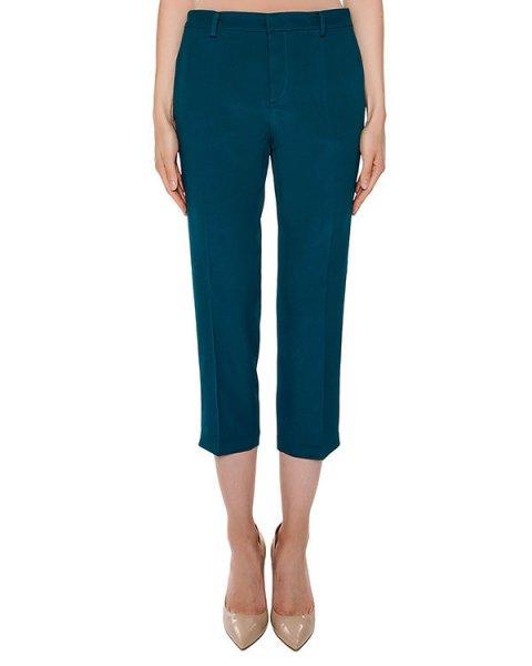 брюки укороченного кроя из легкой ткани  артикул N2S0B131-5816 марки № 21 купить за 16900 руб.