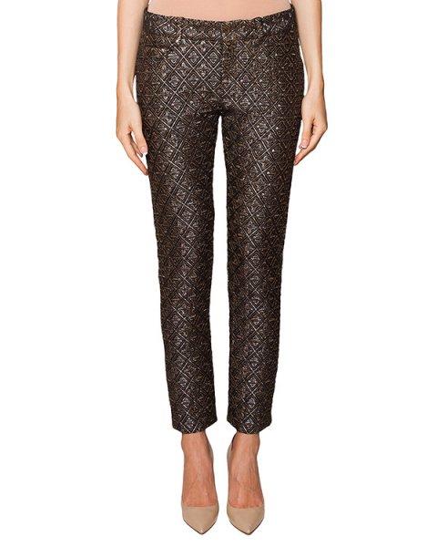 брюки прямого кроя с фактурным выбитым узором артикул N2SB212 марки № 21 купить за 28900 руб.
