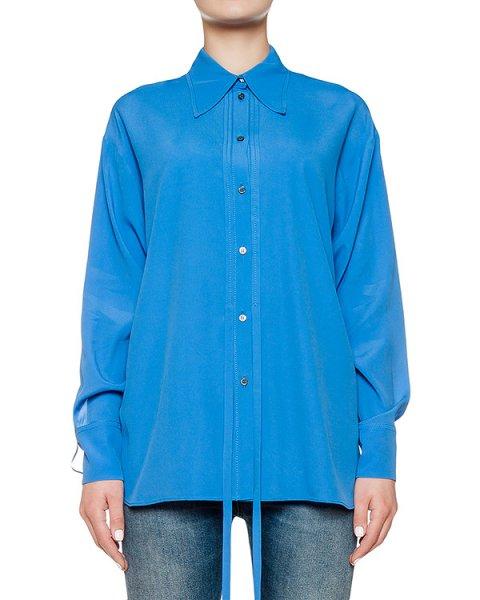 блуза из легкого шелка артикул N2SG051 марки № 21 купить за 23800 руб.