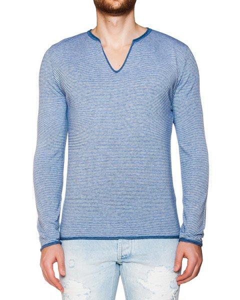 пуловер из мягкого трикотажа в полоску артикул OBS16154M126 марки Obvious Basic купить за 6900 руб.