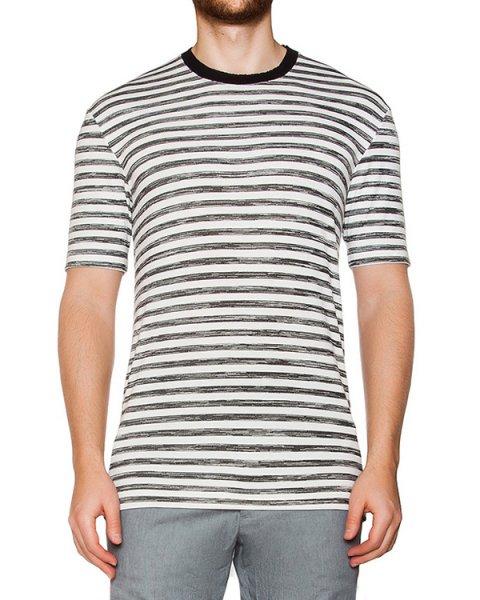 футболка из мягкого трикотажа в полоску артикул OBS16264J118 марки Obvious Basic купить за 5100 руб.