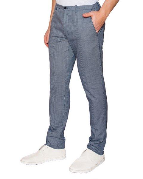 брюки классического прямого кроя артикул OBS16451P101 марки Obvious Basic купить за 9000 руб.