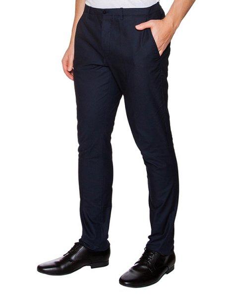 брюки классического прямого кроя артикул OBS16453P101 марки Obvious Basic купить за 8900 руб.