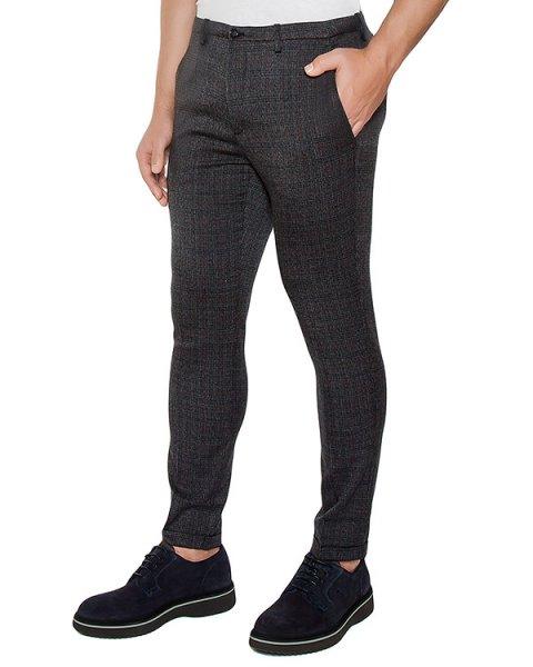 брюки классического кроя из плотной ткани артикул OBW16450P101 марки Obvious Basic купить за 11300 руб.