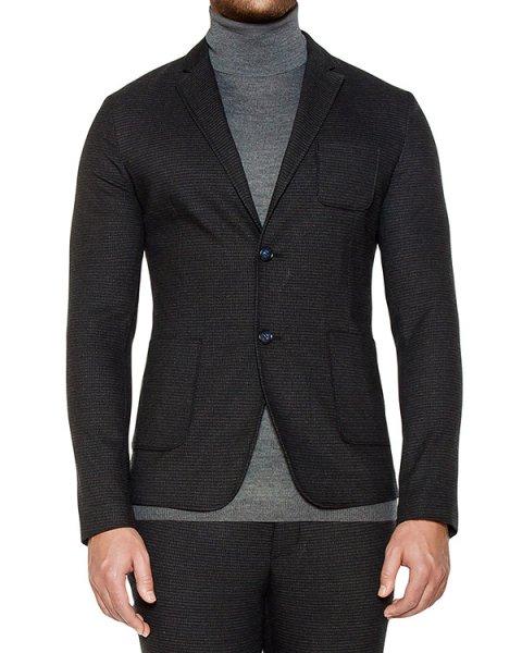 пиджак приталенного кроя из плотного трикотажа артикул OBW16460F150 марки Obvious Basic купить за 34200 руб.